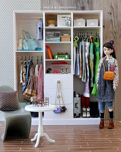 Barbie Wardrobe for Momoko
