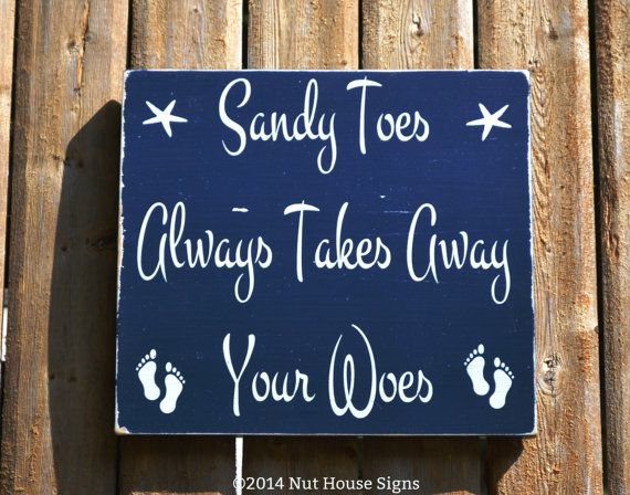 Signs On Pinterest Beach Signs Nautical Nursery Decor And Beach