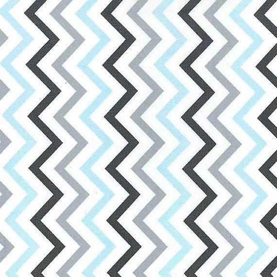 Pretty Blue And Grey Chevron Fabric Pictures Inspiration - Bathtub ...