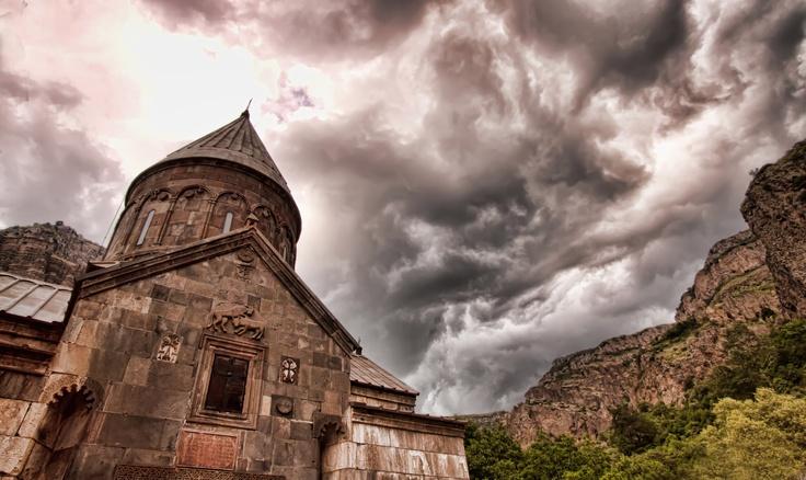 Geghard temple, Kotayk, Armenia