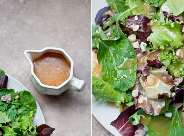 Peach Balsamic Vanilla Vinaigrette side salad_dressing