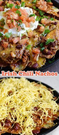 Irish Chili Nachos