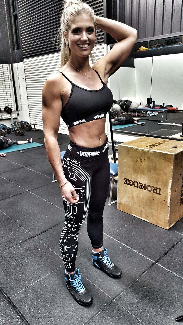Friday night shooting with Riann Burton 🔥 A few weeks out from jumping up on stage!  That apparel setup though 😍 Stealth sports bra, Terminator tights & Genesis gym shoe only available at   irontanksgymgear.com  Built #Iron Tough