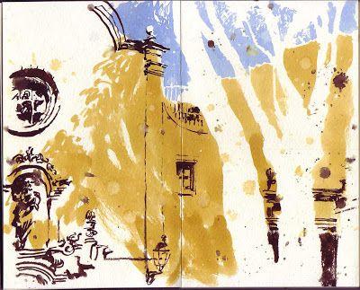 Urban Sketchers in Barcelona. www.urbansketchers.org/