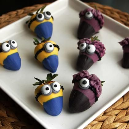 How to Make Amazing Minion Strawberries - MyRecipes