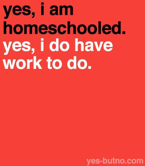 Do homeschoolers get homework