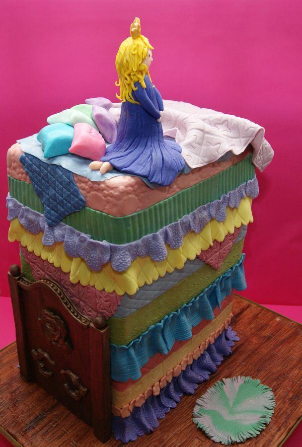 My Princess and the Pea Cake — Children's Birthday Cakes