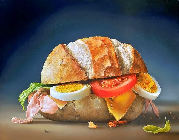 Tjalf Sparnaay et sa nourriture hyperréaliste