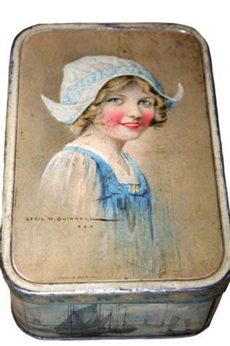 British biscuit tin c.1910