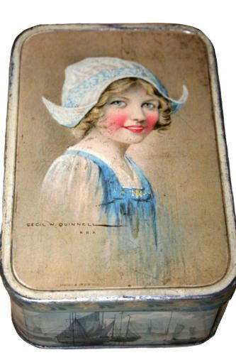 British biscuit tin c.1910