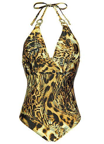 Animal Print Swimsuit love this! :)  #ShiptoShore