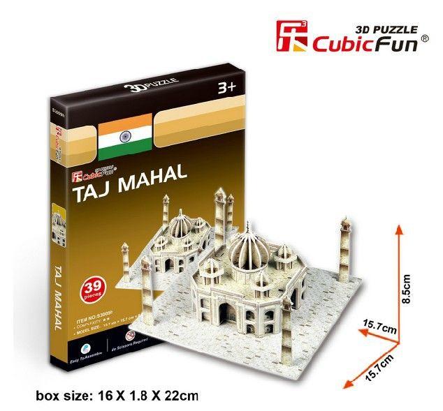 Кэндис го! 3D головоломки игрушка CubicFun модель DIY головоломки игры S3009 мини тадж-махал 1 шт.