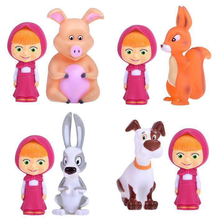 Masha and the Bear  SET FOR SWIMMING  Masha doll Toys #KARAPUZ