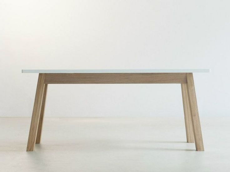 Tavolo da pranzo in legno massello STANDARD by Branca-Lisboa | design Marco Sousa Santos
