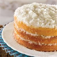 Old fashioned coconut cake...my Daddy's favorite.