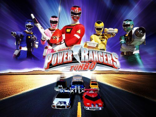 This article refers to the series. For the movie, refer to Turbo: A Power Rangers Movie. Power Rangers Turbo (often abbreviated as PRT) was a television show based on the Japanese Super Sentai television series Gekisou Sentai Carranger (translated as Racing Squadron Carranger) featuring the fifth generation of the Power Rangers.