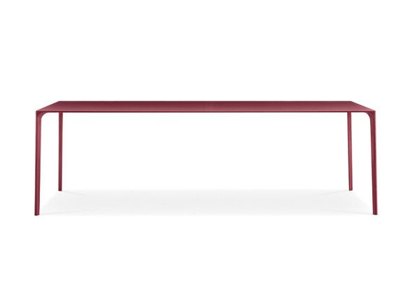 Arper Nuur Rectangular Table Dining Tables Products And