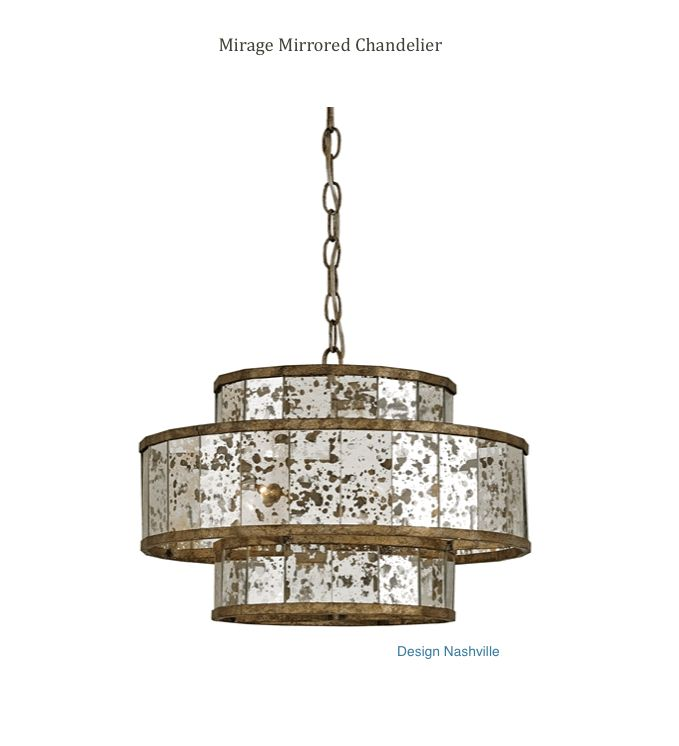 Mirage Mirrored Chandelier Rustic Luxury Homes And Home