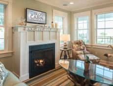 A new fireplace mantel can brighten up an entire room. This project uses standard lumber and crown molding to create a fresh new look.