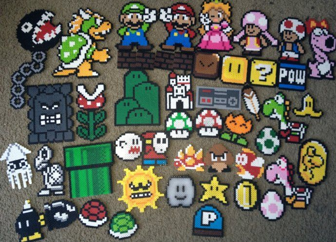 Super Mario World Perlers