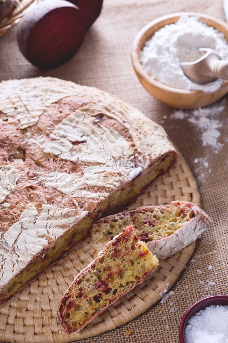 Scopri il segreto del nostro pane alle barbabietole! #Giallozafferano #recipe #pane