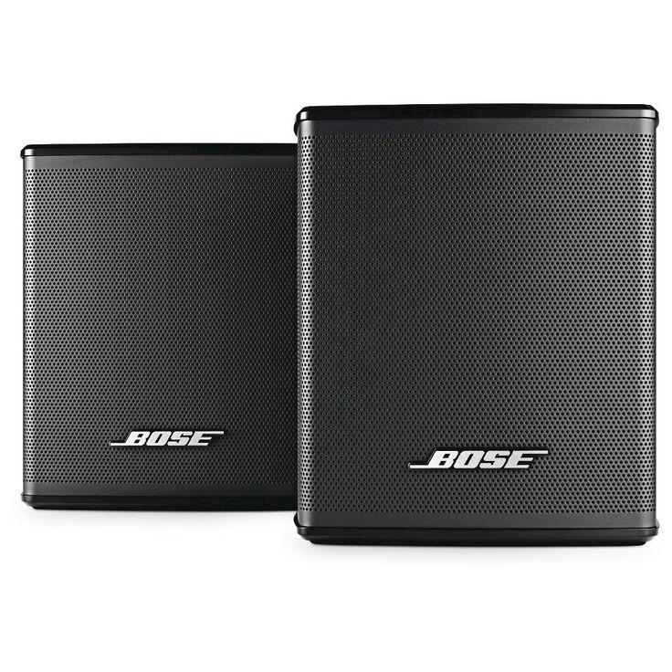 Bose Virtually Invisible 300 Wireless Surround Speakers, Black