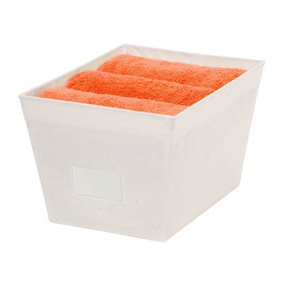 Honey Can Do SFT-01500 Large Tapered Bin With Handle