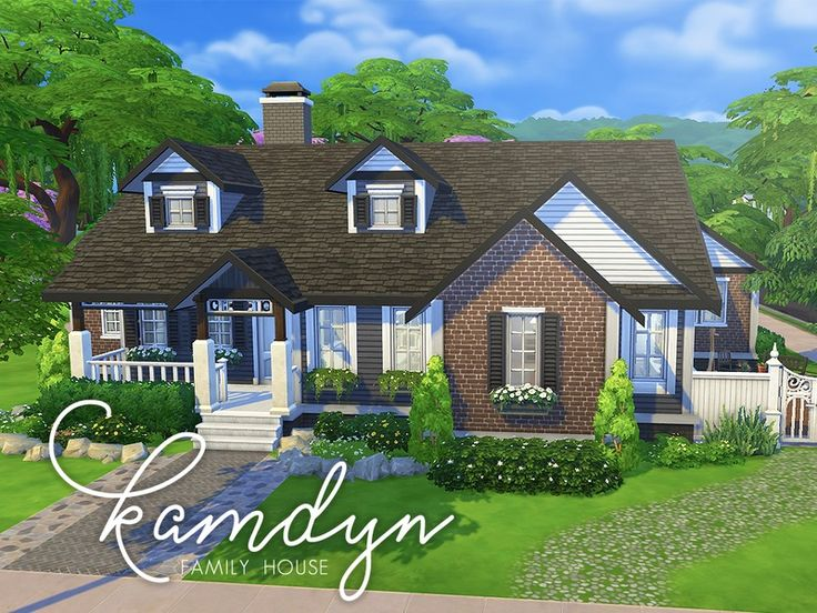 287 Best The Sims 4 Houses Community Lots Images On