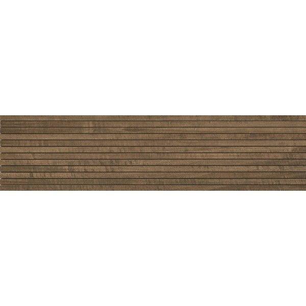 #Ragno #Woodstyle #Mosaik Noce 15x60 cm R3EP | Feinsteinzeug | im Angebot auf #bad39.de 159 Euro/qm | #Mosaik #Bad #Küche