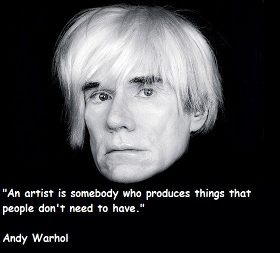 andy warhol quotes - 560×507