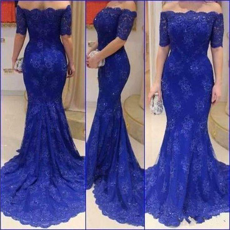 rom Dresses, Blue Prom Dresses,Lace Prom Dresses