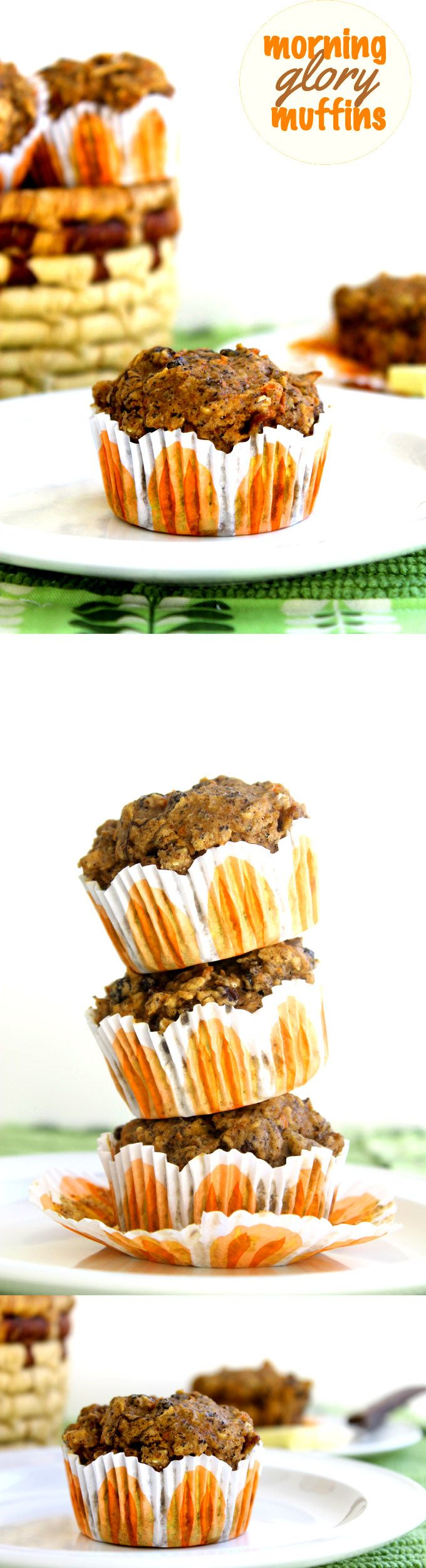 Morning Glory Muffins // TheHealthyMaven.com #glutenfree