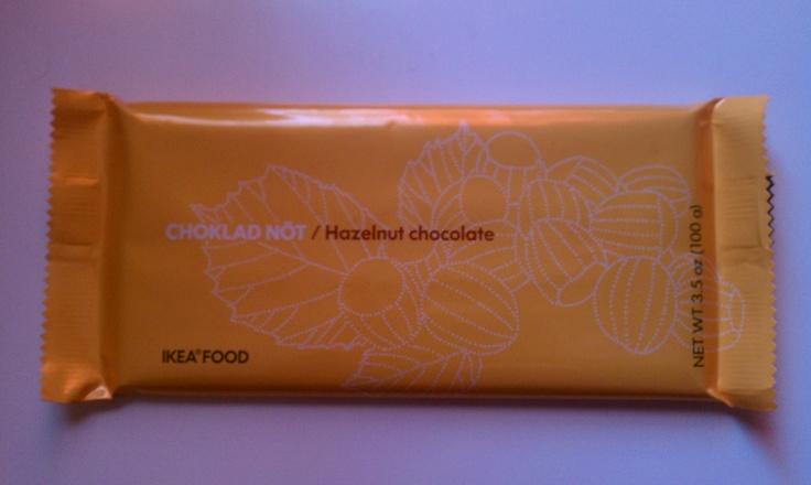 ikea chocolate : )   ikea food, chocolate hazelnut, chocolate