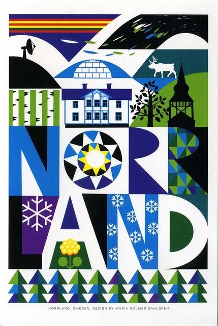 Norrland Sweden design by Maria Holmer Dahlgren