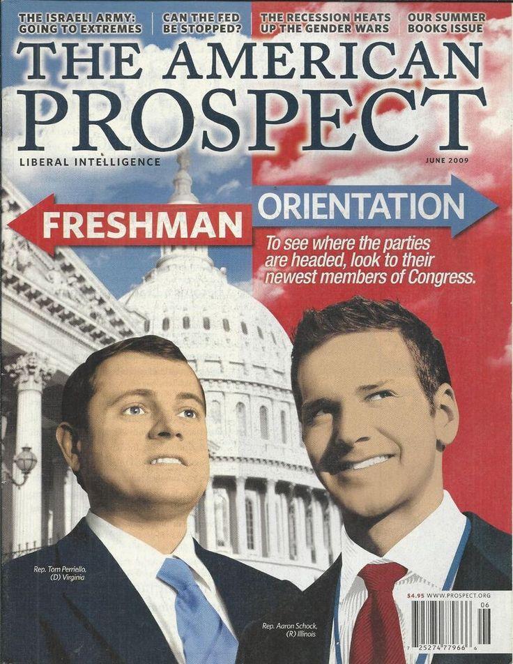 The American Prospect magazine Congress freshmen Aaron Schock Tom Perriello