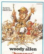 Bananas (1971). [PG-13] 82 mins. Starring: Woody Allen, Louise Lasser, Carlos Montalbán, Howard Cosell, Charlotte Rae, Conrad Bain and Allen Garfield