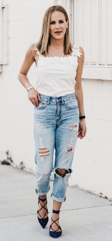 #summer #outfits The Perfect Summer Jeans On Sale On Thefashionfuse.com