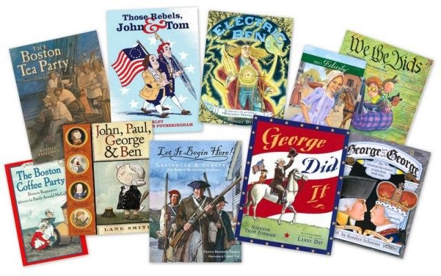 revolutionary war novels for young adults
