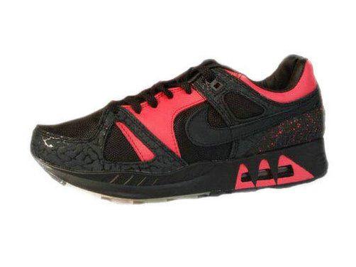 Nike Air Max 89 Shoes Mens Black/Red Sale UK 8u3FsB