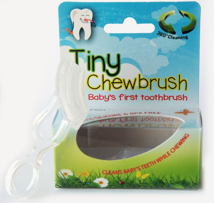 Our NEW Tiny Chewbrush is a chewable toothbrush, which is 100 % Silicone and BPA FREE!  For all teething toddlers who don't want to brush their teeth. Try our Tiny Chewbrush which not only assists in teething by massaging the gums but also brushes the teeth!  Designed to fit in the mouth correctly  Safe and easy to use  Dishwasher and steriliser safe  May be used with our without tooth gel/paste