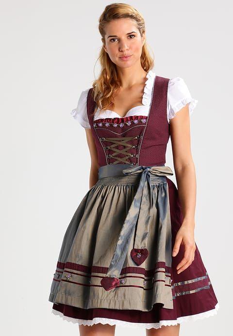 Krüger Dirndl Dirndl - rot für 99,95 € (30.10.17) versandkostenfrei bei Zalando bestellen..   S❤