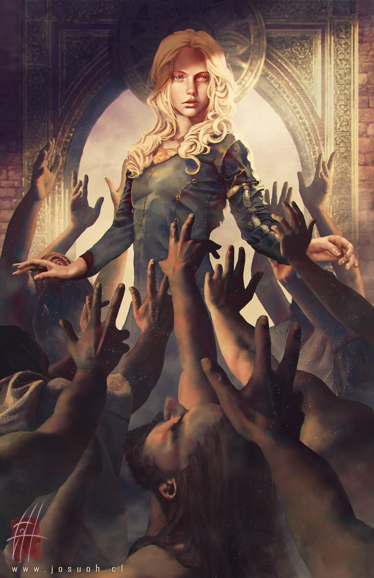 "alosereffort: "" Khaleesi by Josu Hernaiz """