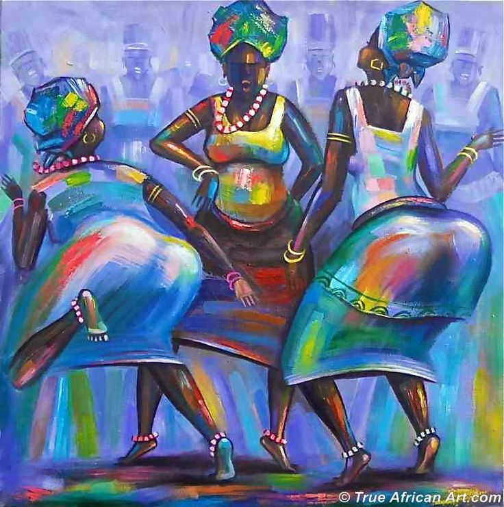 Contemporary African art by Amakai - Climax