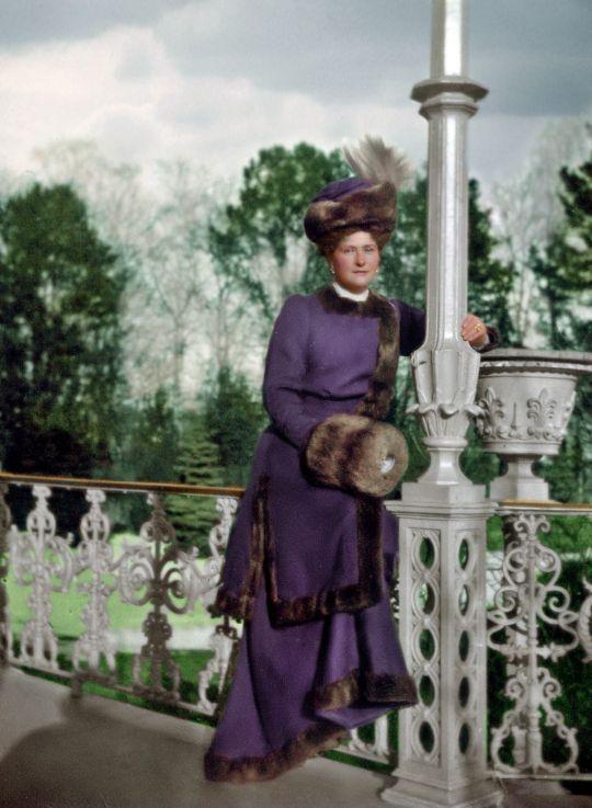 Empress Alexandra Feodorovna of Russia - colorized picture