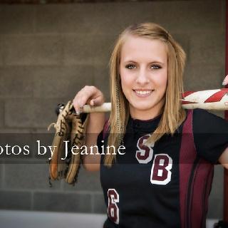 softball senior pic! ⚾