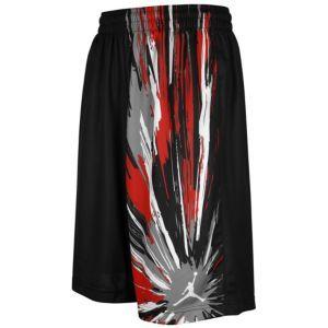 Jordan Explosion Short - Men's - Basketball - Clothing - University Blue/White/Obsidian SZ XXL