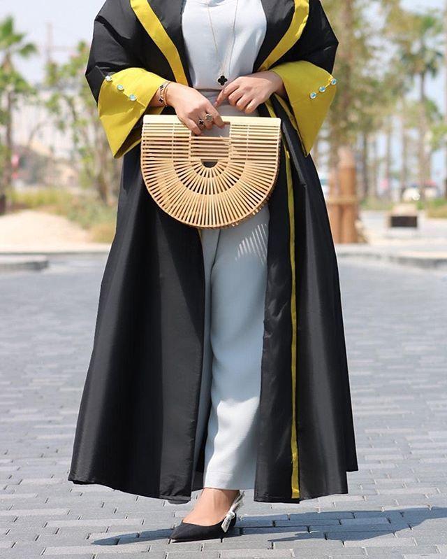 Repost J Binjamhoor Beautiful Details By 10corner Abayas Abaya Abayat Mydubai Dubai Subhanabayas Abaya Designs Fashion Abaya Fashion