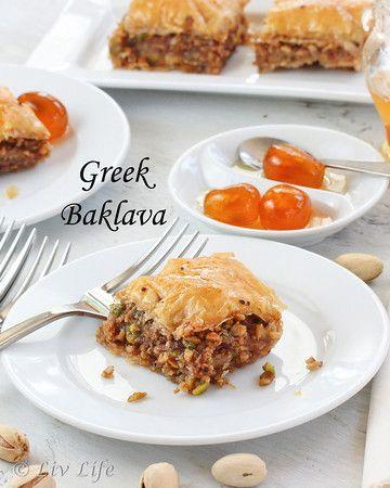 eat baklava
