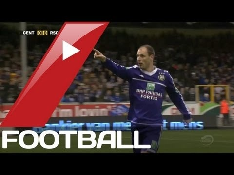 FOOTBALL -  Jovanovi's stunner for Anderlecht | Belgian Pro League Goals  Highlights | 16-03-2013 - http://lefootball.fr/jovanovis-stunner-for-anderlecht-belgian-pro-league-goals-highlights-16-03-2013/