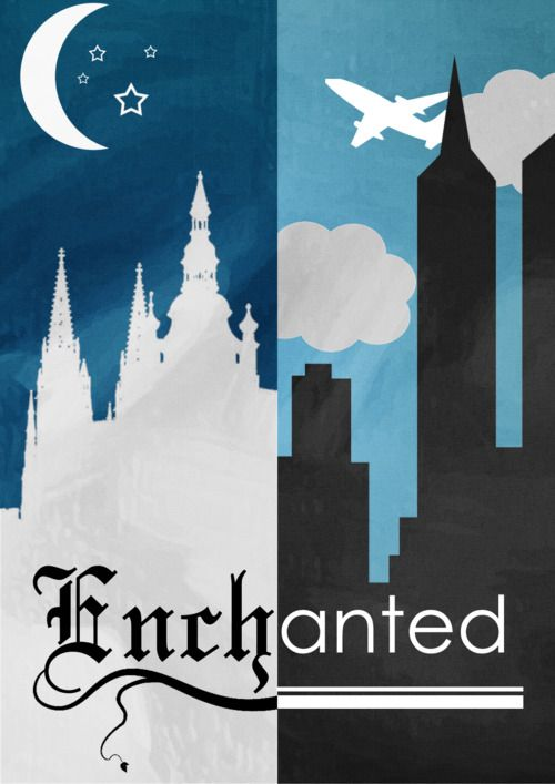 Disney Pixar Magic • theparkhopper: Enchanted Minimalist Poster